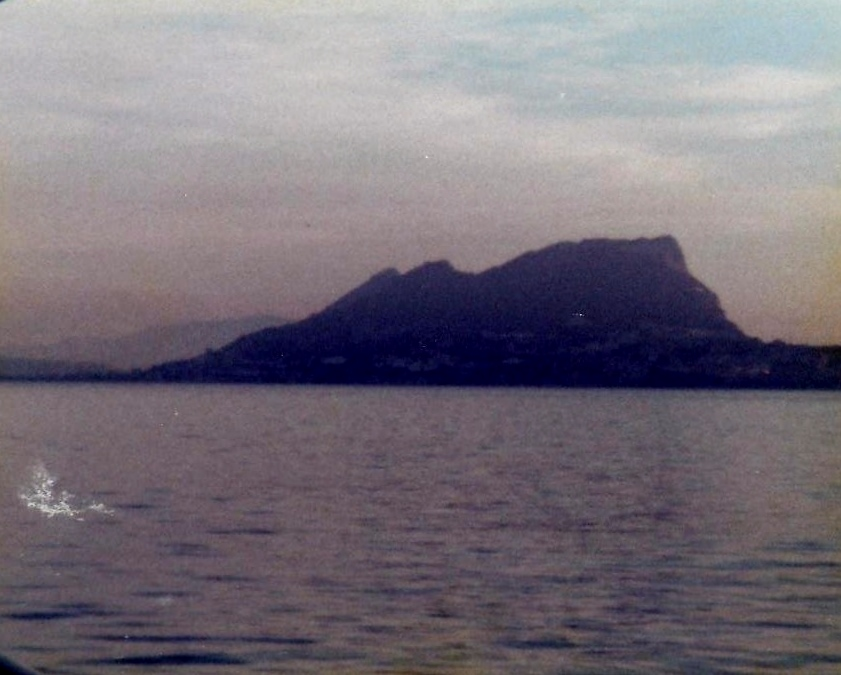 The Rock of Gibraltar March 24, 1979