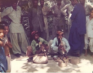 Snake Charmers (Cobras) Karachi, Pakistan June 16, 1979
