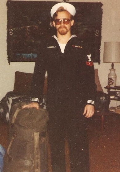 Chet, the day he left the Barry May 21, 1982 (21 years old)